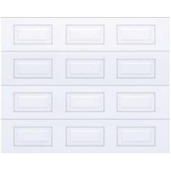 Sekční vrata s panelem s kazetovým prolisem